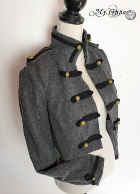 veste boléro steampunk fashion my oppa creation