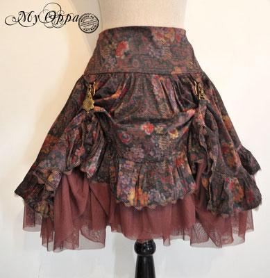 creation jupe steampunk my oppa mori