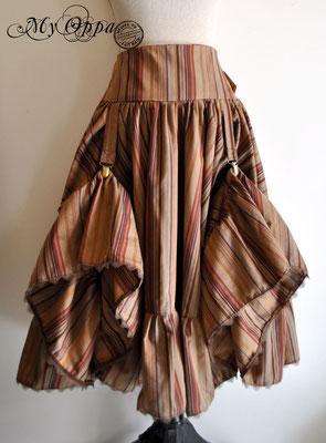 creation jupe steampunk my oppa pirate skirt fashion
