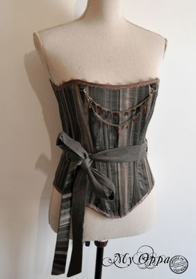 underbust steampunk corset My Oppa top burlesque