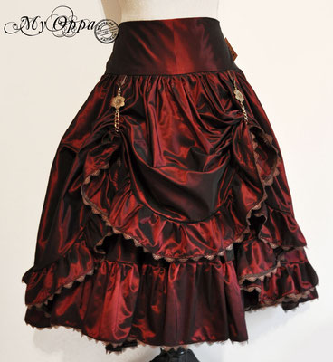 creation jupe steampunk my oppa princesse skirt fashion