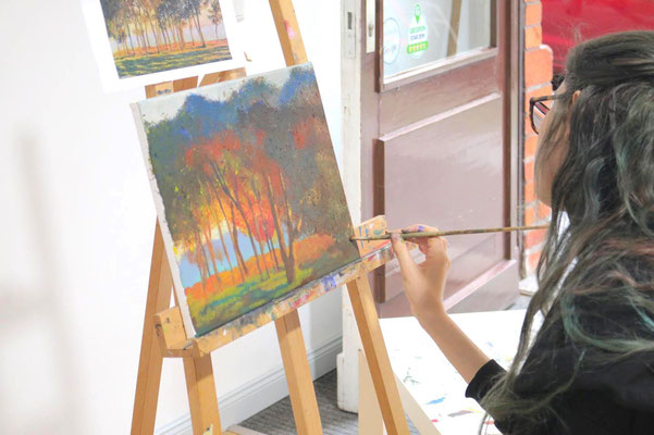 Impressionismus  in der Kunstschule Artgeschoss