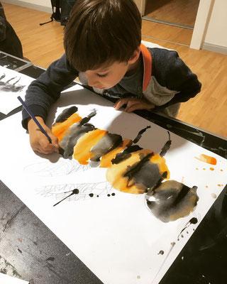 Kindermalkurs Aquarellmalerei