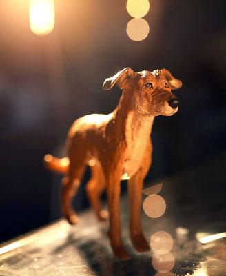 individuelle handgemachte Hundefigur Tierfigur