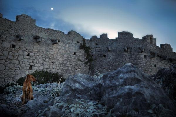 Mauer von Ostrica