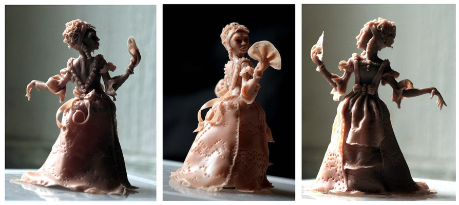 Super Sculpey Barrocke Dame