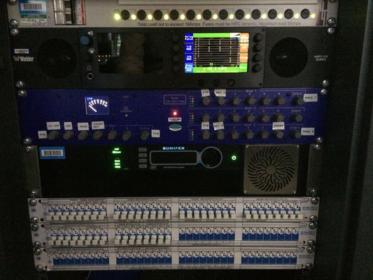 AVN-PX8X4C Presenter In-Ear Monitoring System Mix Engine Rack