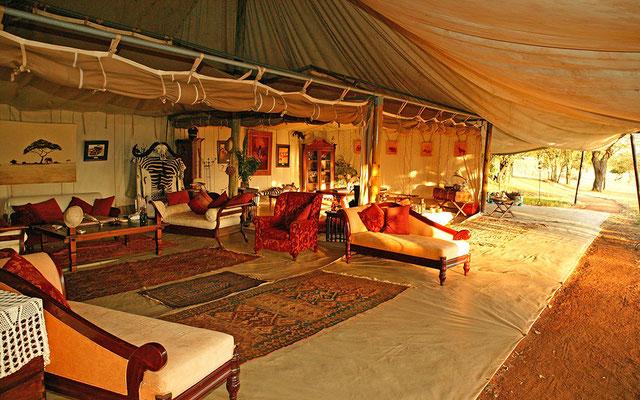 Kenya Cottars Lounge