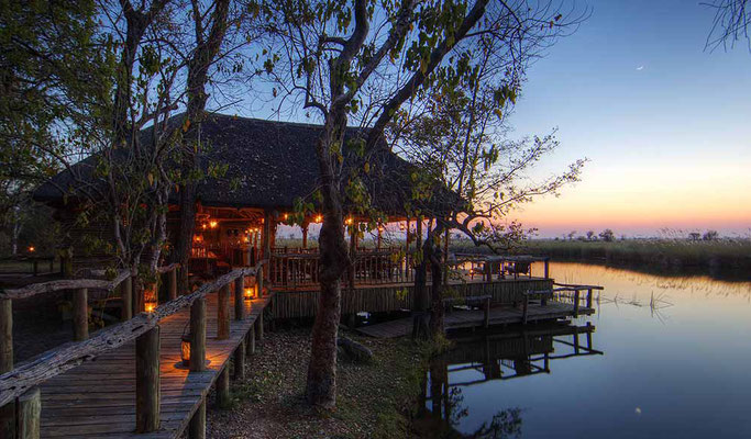 Botswana Xakanaxa Sunset Deck