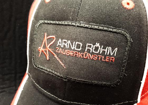 Arnd Röhm-Cap, Hochwertige Bestickung, Einzelanfertigung bei Maßatelier Weimper Kuppingen: 14,90 €uro