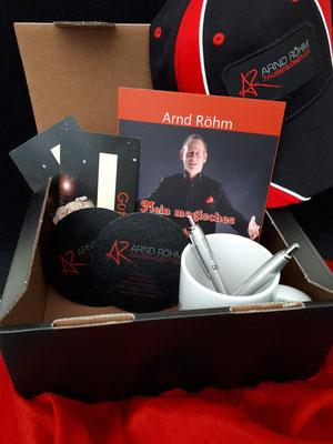 Arnd Röhm gefüllte Fanbox, Preis siehe unten stehend