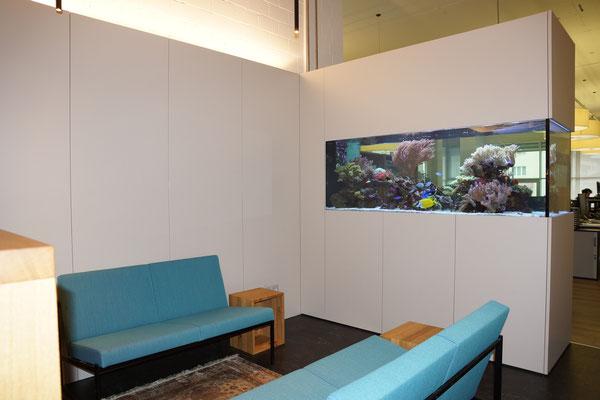 Sitzbereich mit Aquarium, Baar