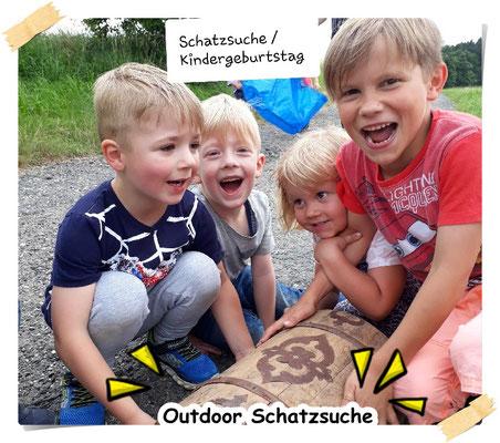 © Brot und Spiele : Ausrichtung von Kindergeburtstage - Outdoor Schatzsuche