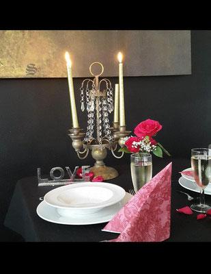 © Candle-Light-Dinner im Loft Brot und Spiele Veranstaltungsloft Postbauer-Heng