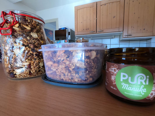 8. Savourez vos granola le matin avec ou sans lait, en yaourt, ou par pure gourmandise