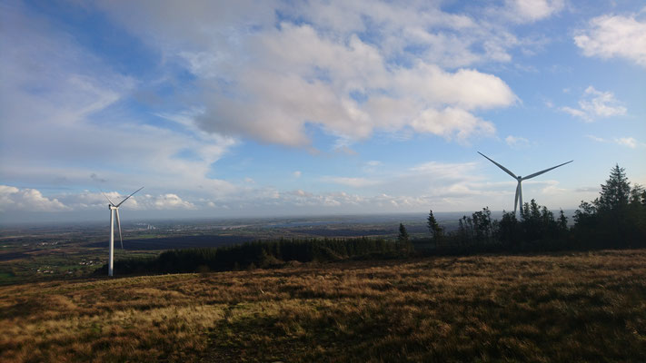 "Sliabh Bawn Wind Farm, alias ""The Mountain"", County Roscommon, Ireland"