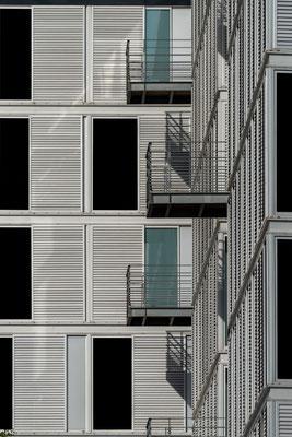 Nantes 18 -  Détail d'un immeuble