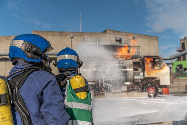 Illustration du savoir-faire - Centre formation sécurité incendie