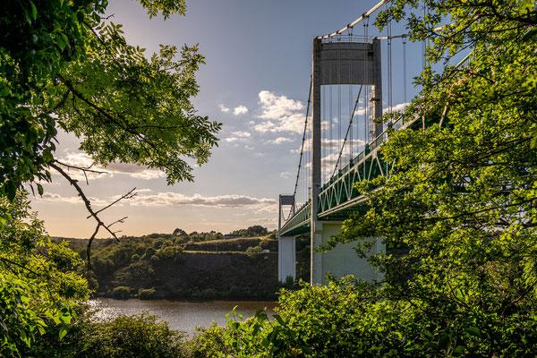 La Roche-Bernard 6 - Soleil couchant sur le pont