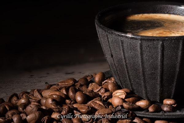 café mis en scène