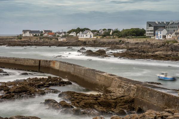 Batz sur mer - jour - océan - Atlantique - digue - pose longue - plage