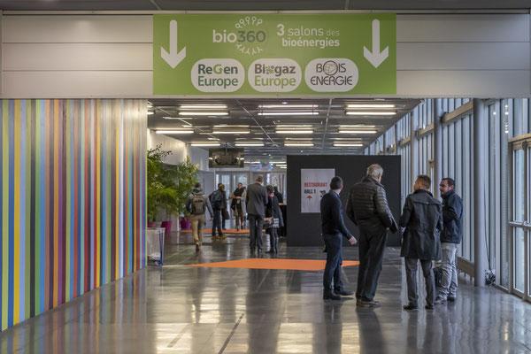 Photographie événementielle - Reportage salon bio 360 à Nantes