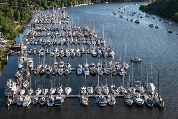 La Roche-Bernard 7 - Le port vue du pont