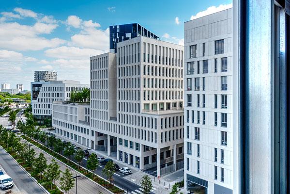 Nantes 5 - Immeubles quartier gare