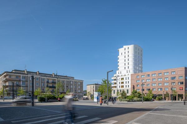 Lorient - Quartier de la gare