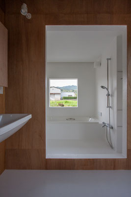さわやかな風が通る浴室