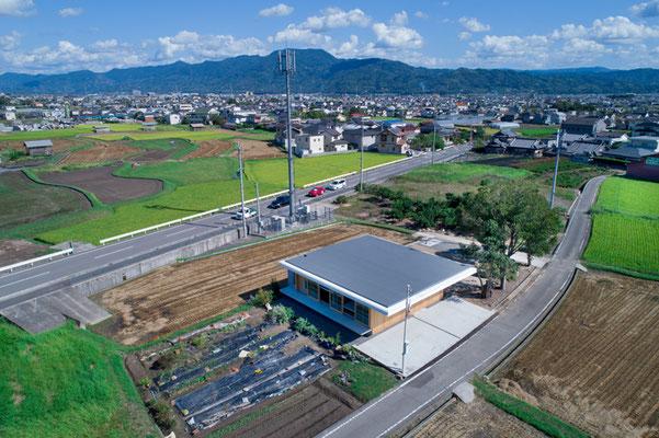 屋上からは周辺の風景を一望できます