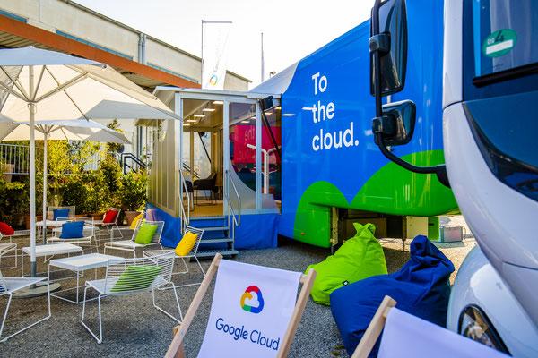 Google Cloud Truck