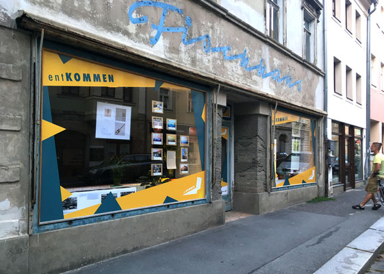 Schaufensterausstellung Zittau