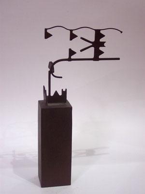 MOVIMIENTOS 4. 2006. 28,5 x 14 x 6 cm. Hierro