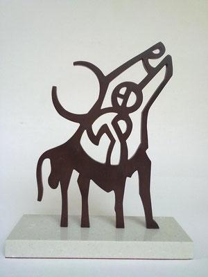 TORO. 2011. 25,5 x 21 x 8 cm. Iron.