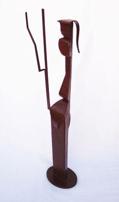 FIGURA DE MUJER. 2008. 105  x 30 x 21 cm. Hierro
