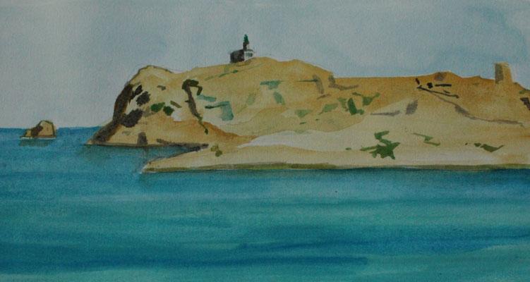 L'ile rousse, Korsika.
