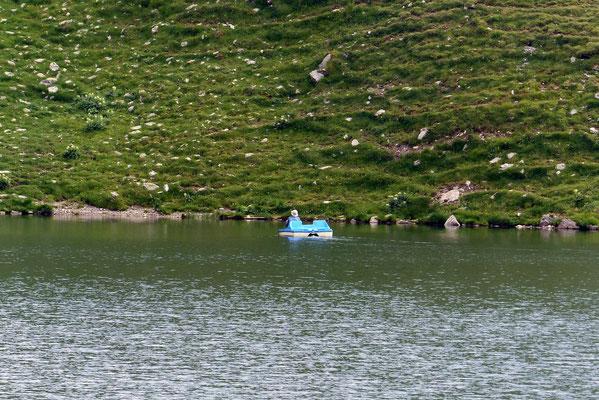 Tretboot auf dem Obstansersee