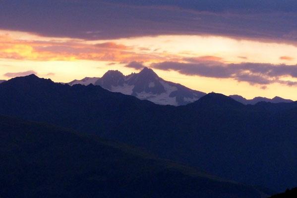 Sonnenaufgang am nächsten Morgen (05.45h)