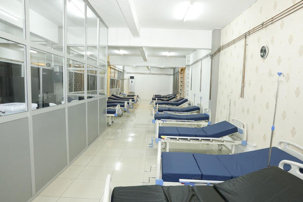 Yaounde Ex-Orca, Centre spécialisé de prise en charge des patients du Covid-19
