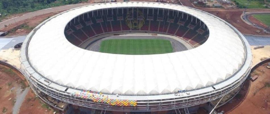 Le stade d'Olembé