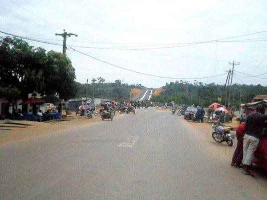 Kye Ossi vers la frontière equato-guinéenne