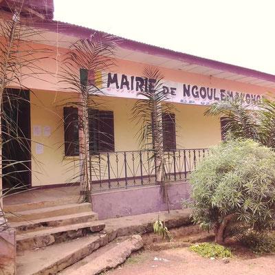 Ngoulemakong, la mairie