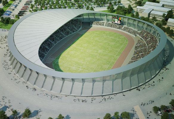 Stade de Roumde-Adja, Garoua