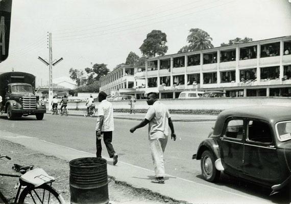 Le marché central en 1960