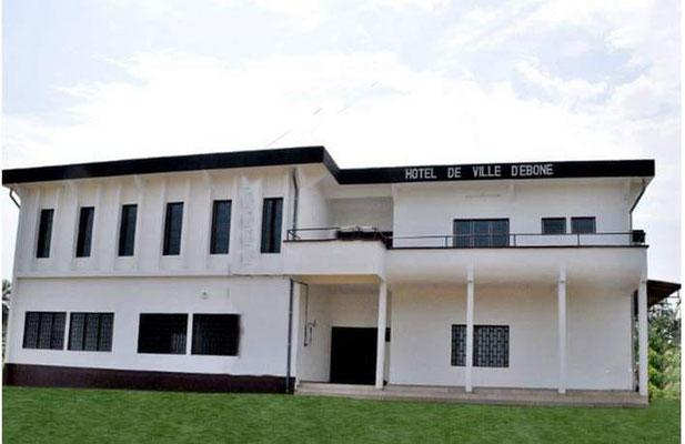 Hotel de ville d'Ebonè, construit en 201X