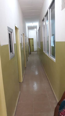 Bertoua, Centre spécialisé de prise en charge des patients du Covid-19