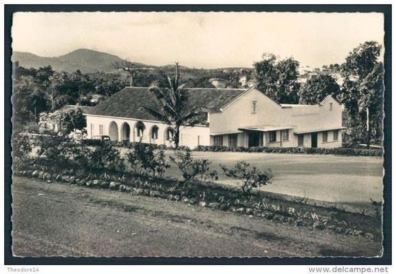 Le siège de l'ATCAM, l'Assemblée Territoriale du Cameroun