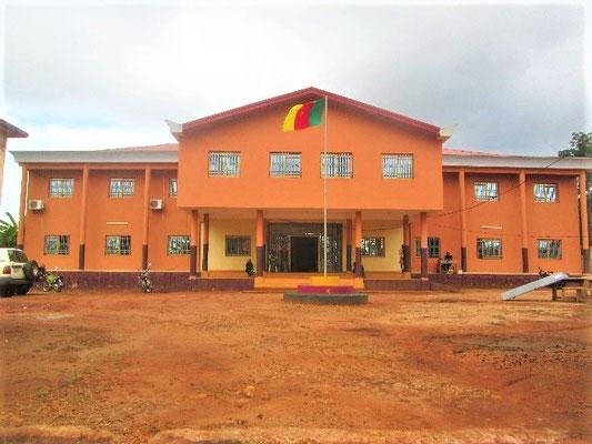 Abong Mbang Hotel de ville inauguré en 2018