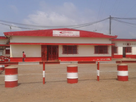 Belabo, la gare ferroviaire